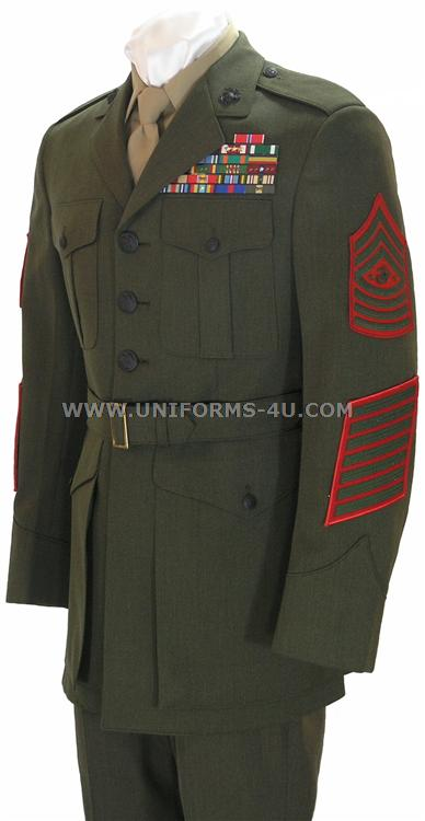 Marines Enlisted Uniform Enlisted