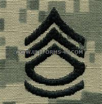 army combat uniform acu sfc sergeant 1st class rank insignia