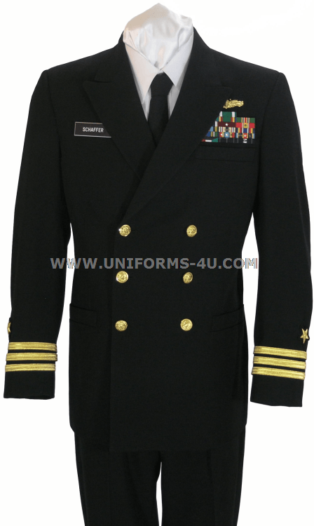 Amazing USN Officers Service Dress Blue Uniform  Eastern Costume  A