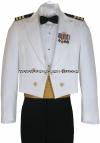 us navy dinner dress white uniform
