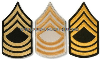 us army master sergeant chevrons
