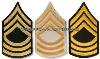 us army master sergeant chevrons