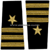 us navy soft shoulder board line commander