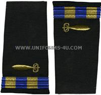 us navy soft shoulder board wo2 underwater ordnance technician