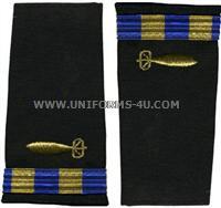 us navy soft shoulder board wo2 underwater ordnance technician