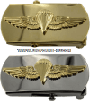 us navy and marine corps buckle parachutist officer