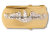 us navy buckle chief petty officer submarine