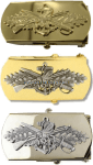 us navy buckle seabee officer