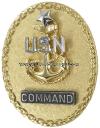 us navy senior enlisted advisor e8 command identification badge