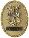 us navy senior enlisted advisor e9 fleet identification badge