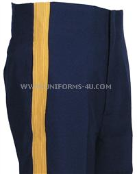 us army high rise trousers for blue mess uniform