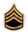 army tie tac staff sergeant