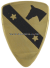 army 1st cavalry division unit crest