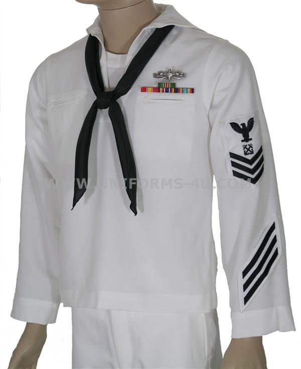 us navy white jumper