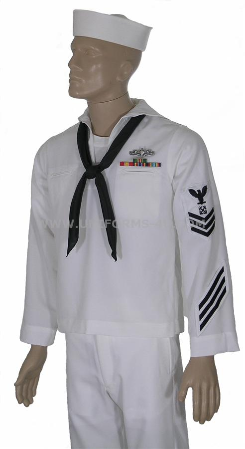 US Navy Enlisted Dress Uniforms
