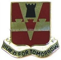 army 876 engineer battalion arng pa unit crest