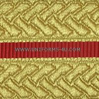 usmc officer gold braid for evening dress uniform trousers